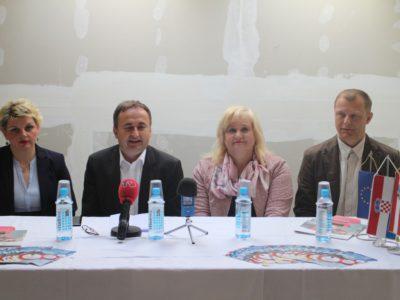 Konferencija za novinare u Centru za razvoj poduzetništva Ludbreg d.o.o.
